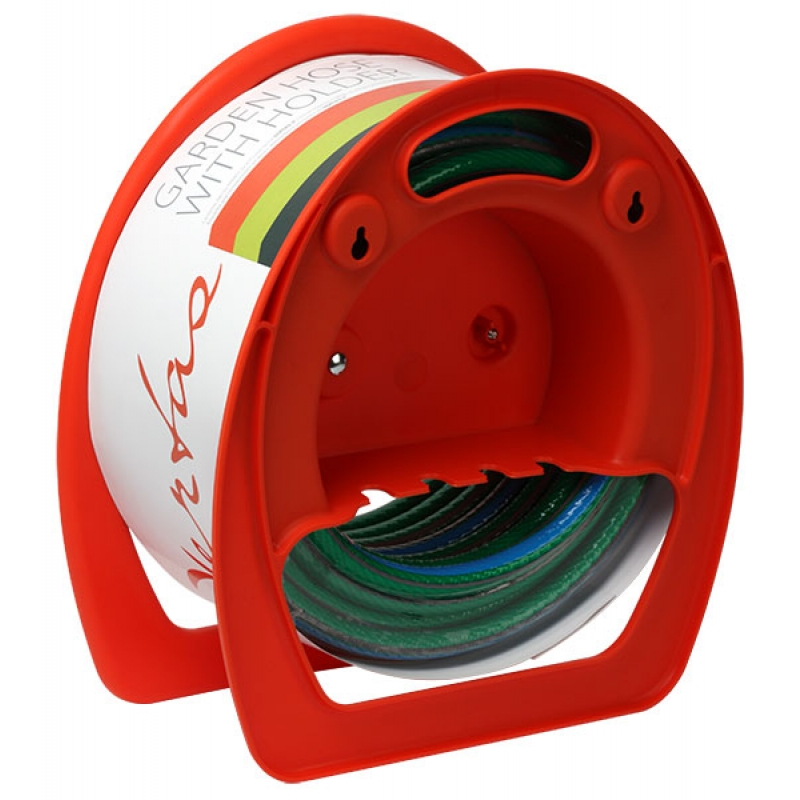 Holder with garden hose VERTAS