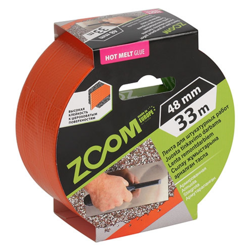 Duct tape for plastering,  ZOOM