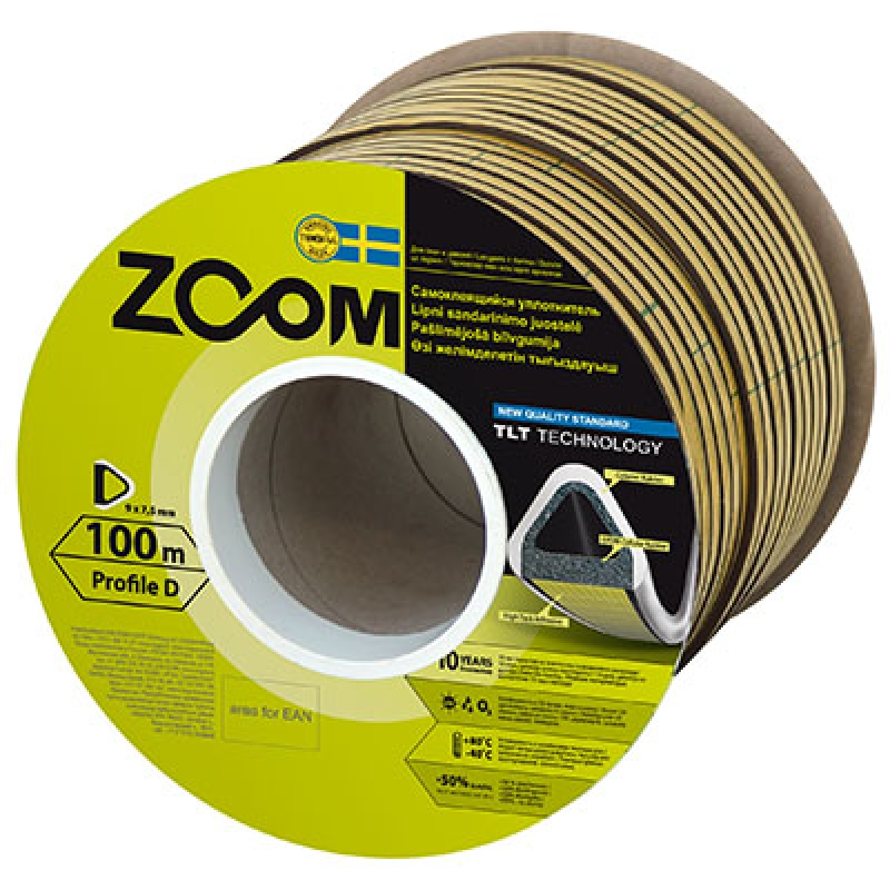 SELF-ADHESIVE SEALING STRIP D, TLT ZOOM