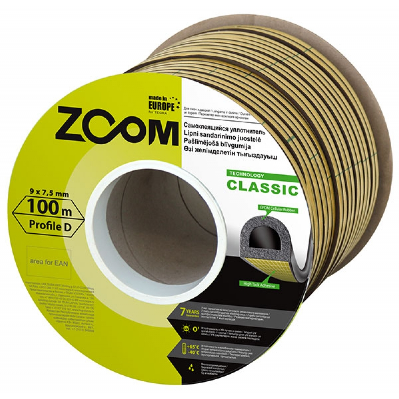 SELF-ADHESIVE SEALING STRIP D, CLASSIC ZOOM